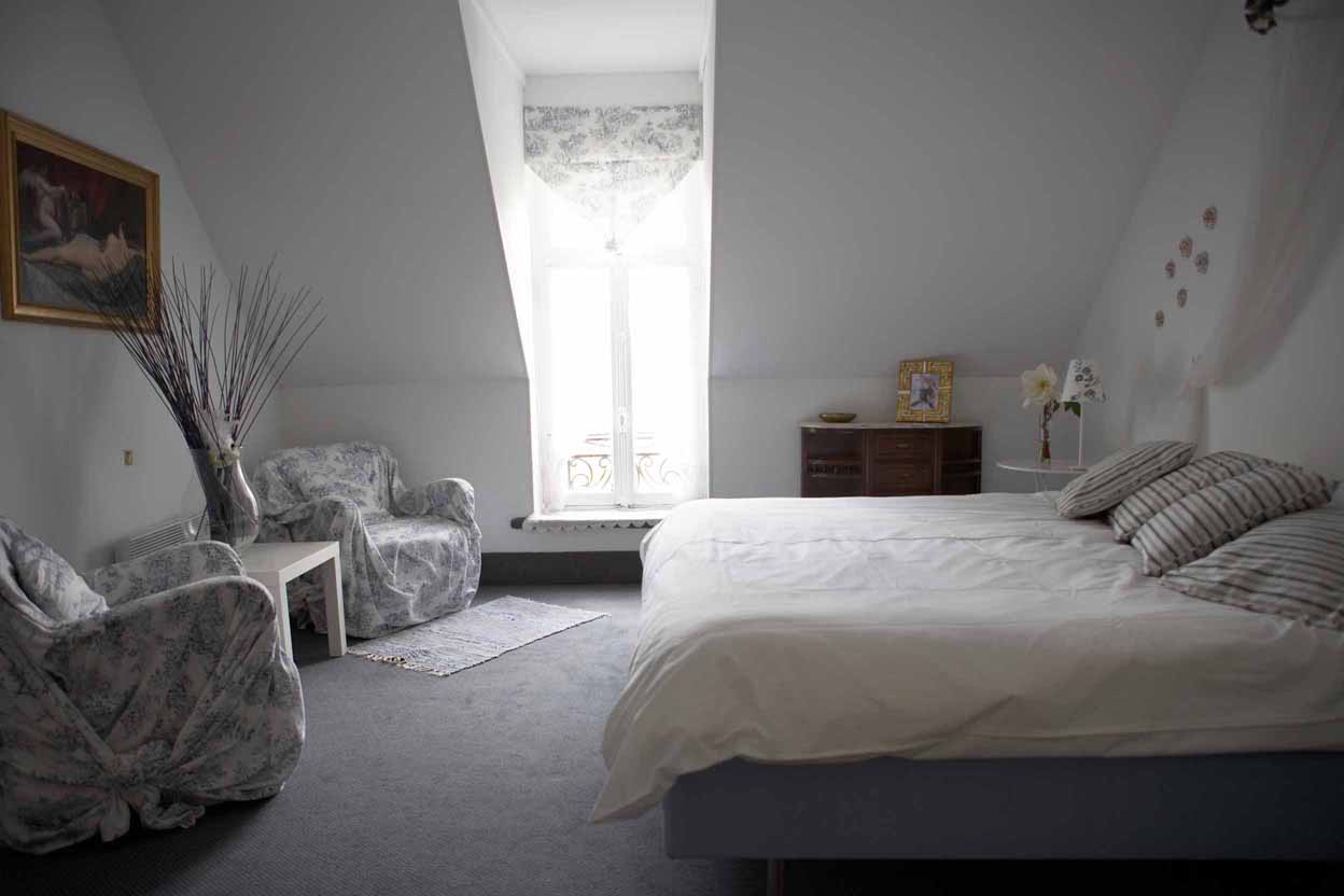 Les chambres bedrooms le plein air - Les chambres blanches ...