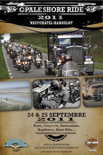 Rassemblement Harley Davidson Hardelot Plage